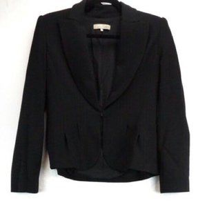 Authentic Michael Kors Collection Wool Silk Blazer